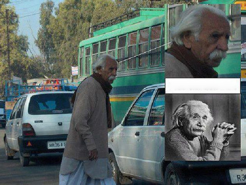 Einstein-lookalike
