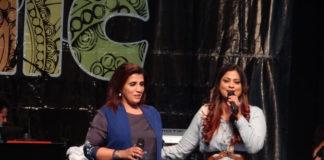 Humera Channa (left) and Richa Sharma