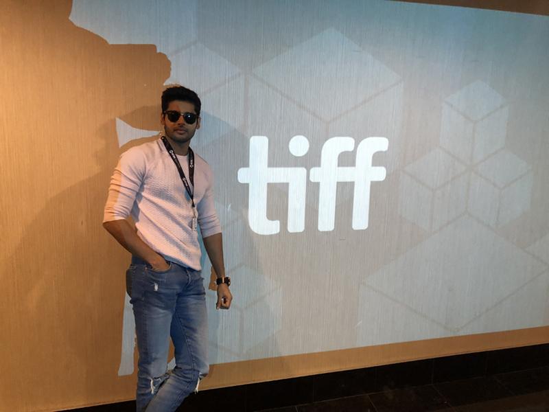 Abhimanyu Dassani at TIFF
