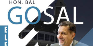 Bal Gosal contesting for mayor of Brampton.