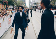 Dev Patel at the premiere of Hotel Mumbai at the Toronto International Film Festival. TIFF photo