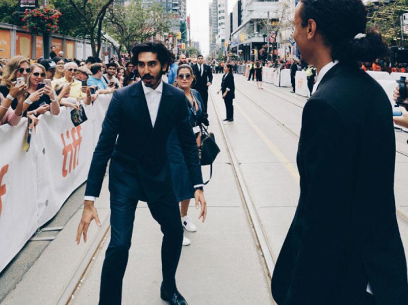 Dev Patel at the premiere of Hotel Mumbai at the Toronto International Film Festival. TIFF photo