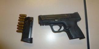Handgun seized by Toronto police