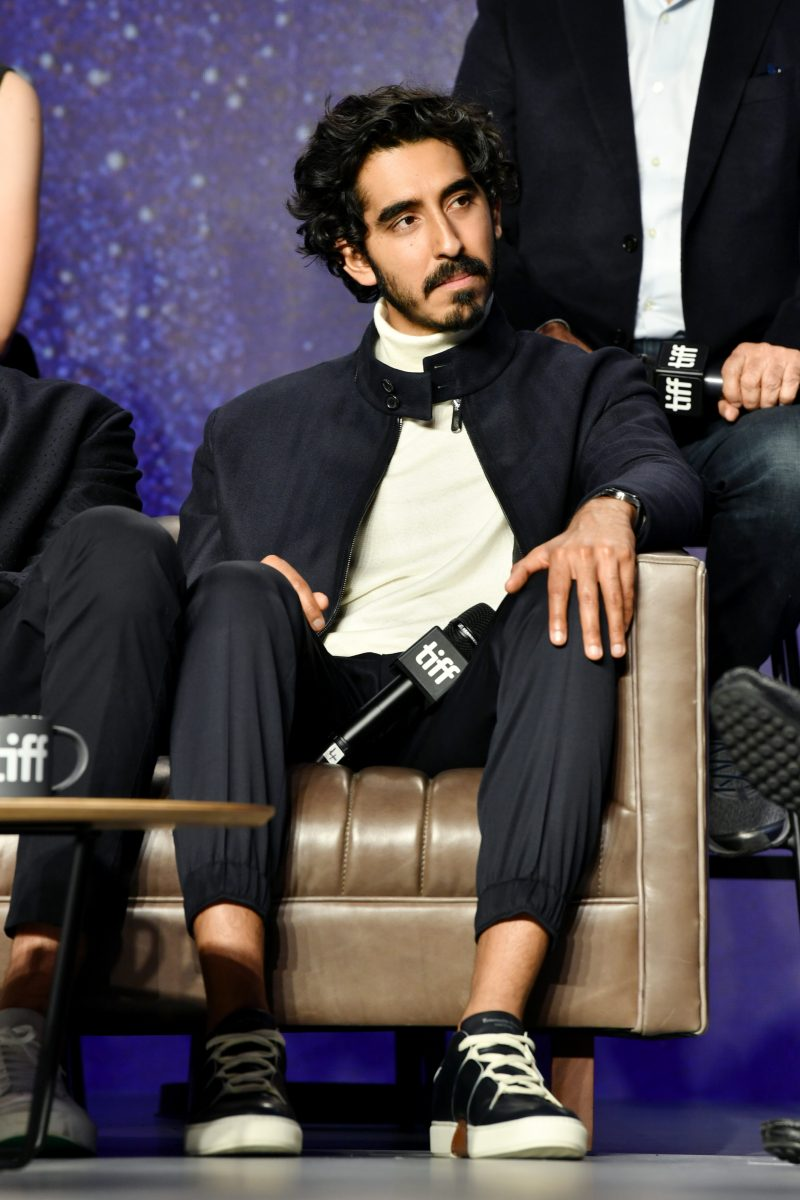 """Dev Patel at the press conference for """"Hotel Mumbai"""" Press Conference al at TIFF Bell Lightbox on in Toronto."""