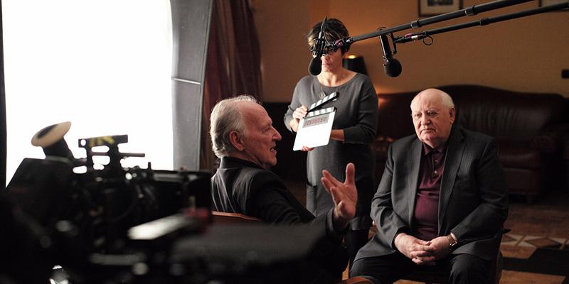 Werner Herzog meeting Gorbachev