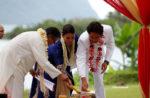 Tulsi Gabbard's wedding ceremony.