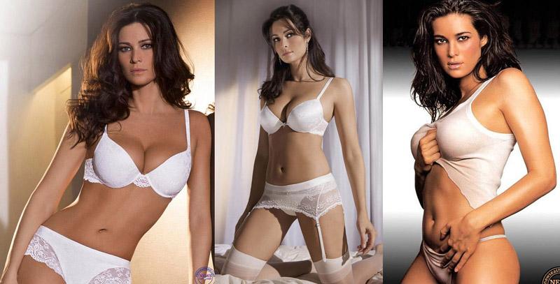 Italian model Manuela Arcuri