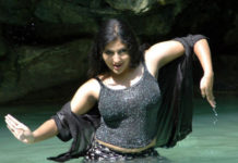 Tamil actress Monica.