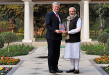 Harper with Modi