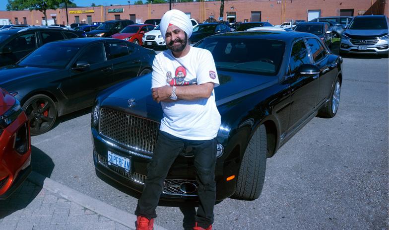 Nav Bhatia at his Hyundai dealership - Indo-Canadians I Canada immigration tips
